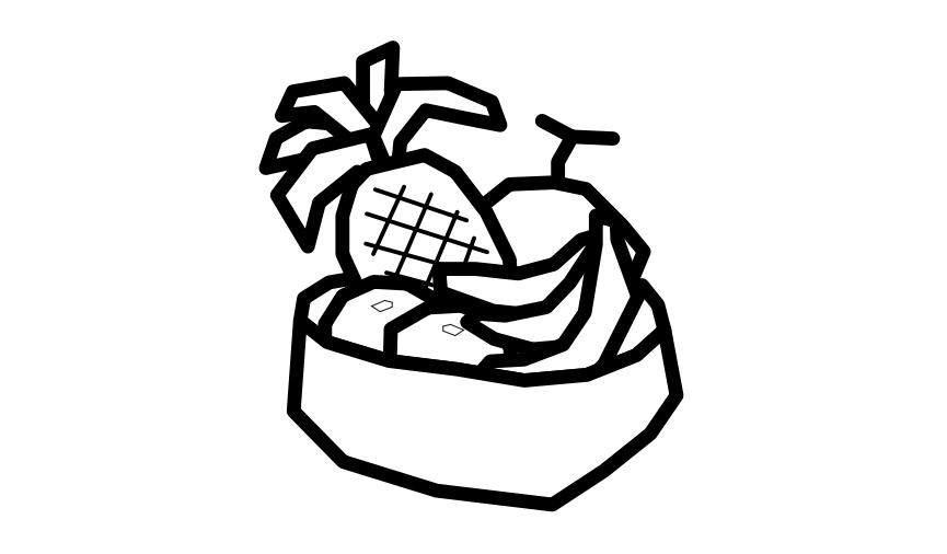 果物・花・野菜・風景